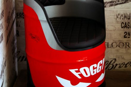 Limited edition Foggy Oil Drum Chair