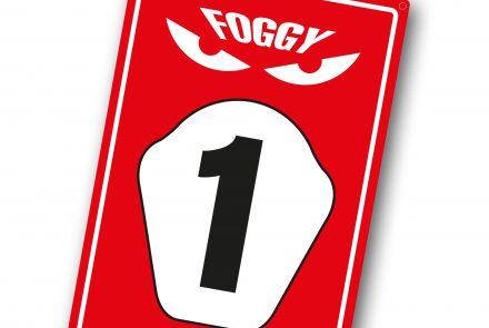 Foggy Parking Sign