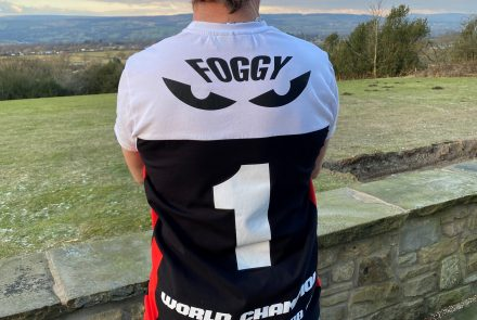 'Foggy Number 1' T-shirt
